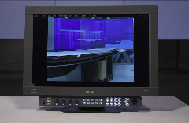 Презентация решений Barco для телевидения