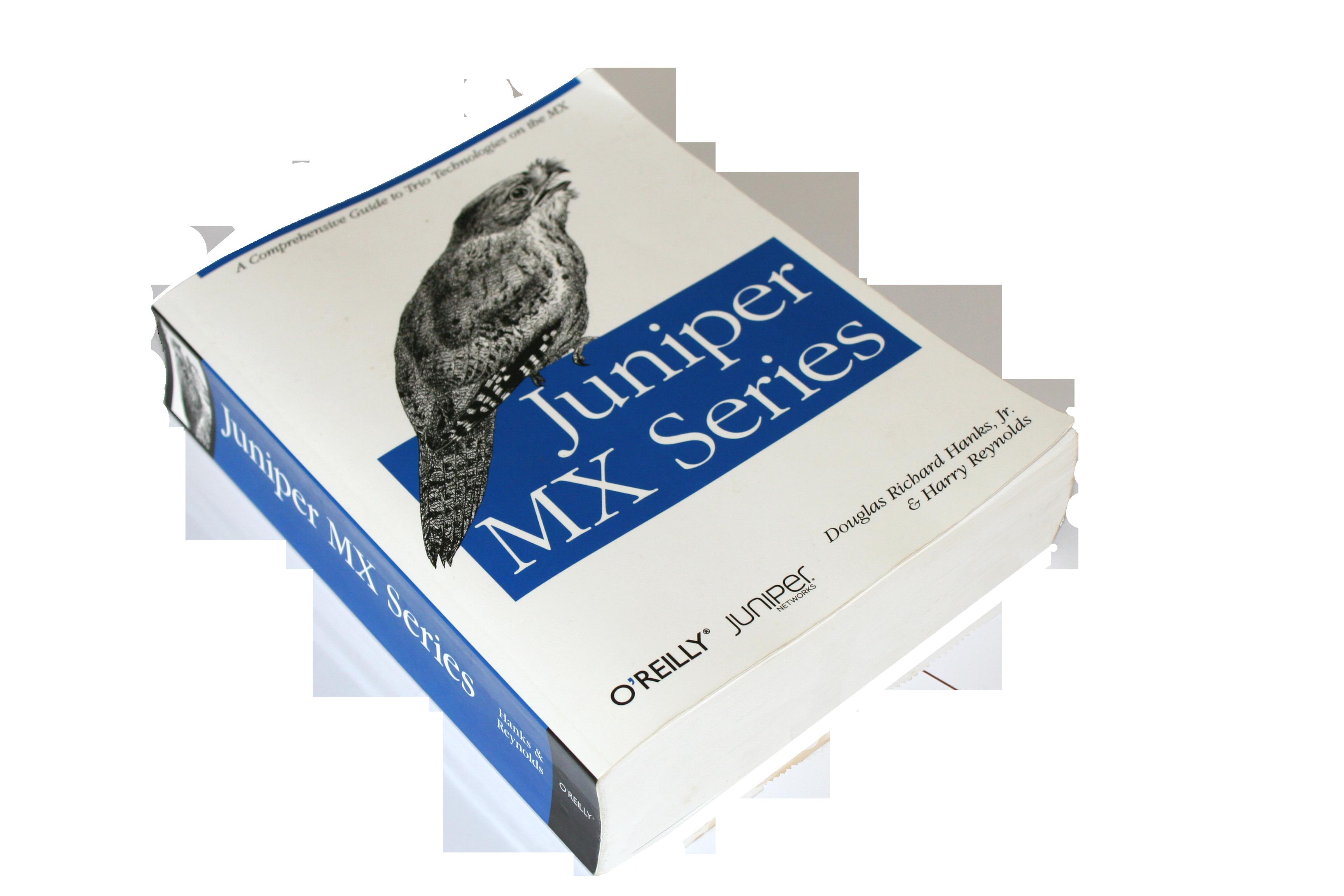 book juniper mx series