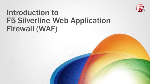 Silverline Web Application Firewall