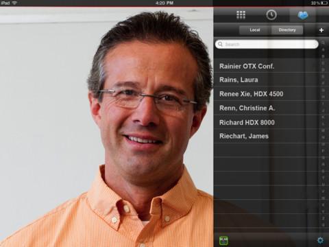 Polycom CEO представляет RealPresence Mobile на выставке CTIA